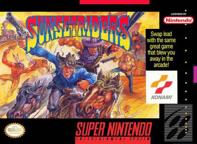 Sunsetriders é com certeza um dos jogos mais difíceis e divertidos do Super Nintendo