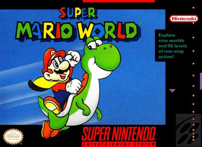 Não há palavras que possam expressar a grandeza de Super Mario World.