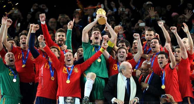 Espanha é a lider do ranking de seleções da fifa em 2010