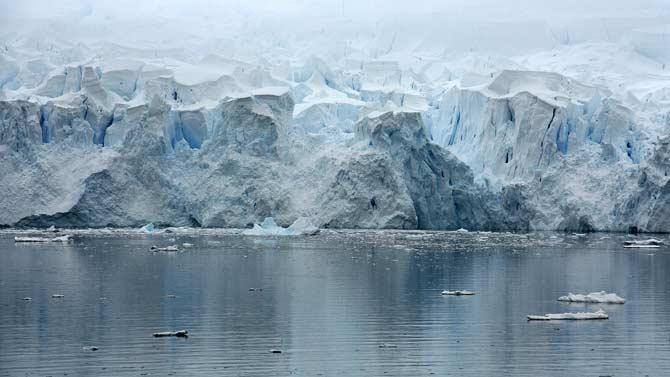 Geleiras da Antartida (Foto: Pixabay)