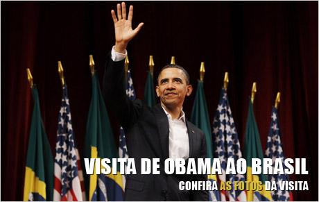 Fotos Obama no Brasil