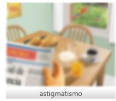 Astigmatismo exemplo