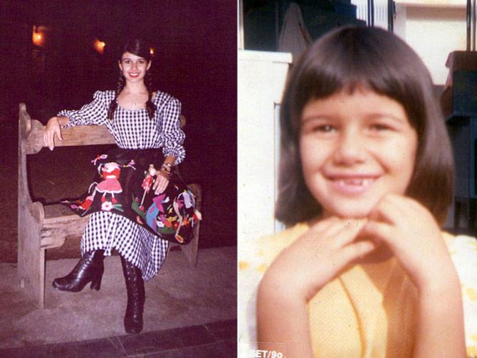 Paula Fernandes gravou seu primeiro CD aos 10 anos de idade. (Foto: Arquivo Pessoal)