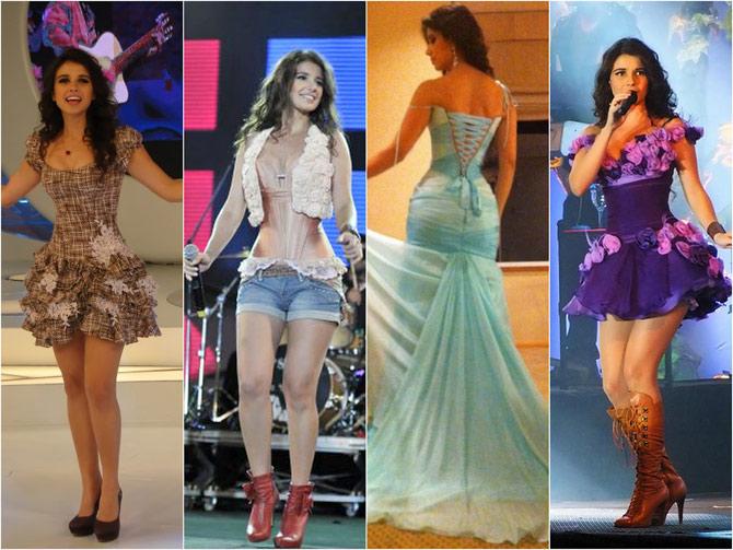 Tanto quanto bela voz, Paula Fernandes também tem belas curvas. (Foto: Reprodução)