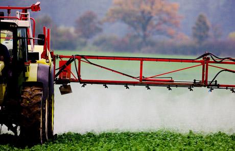 Agrotoxicos nas plantações