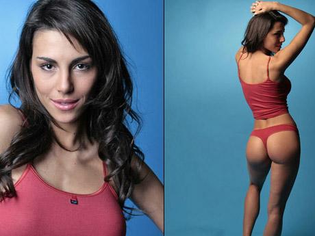 Carla Ferrer fazendo pose para foto