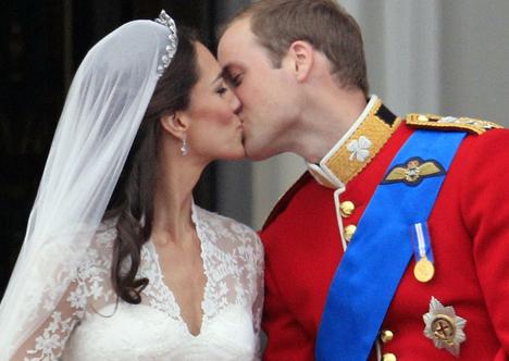 O beijo real
