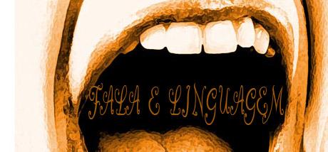 fala e linguagem