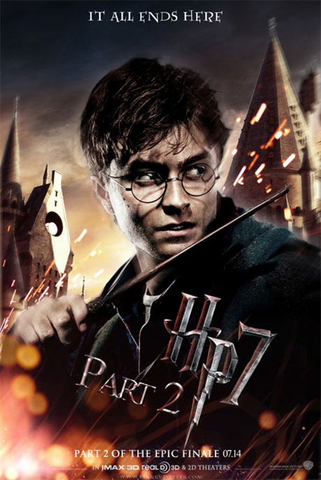 Cartaz Harry Potter Reliquias da Morte parte 2