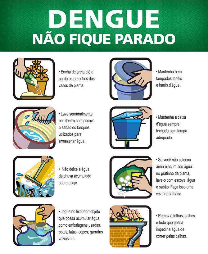 Dicas para combater a dengue (Imagem: Reprodução)