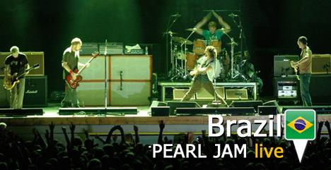 Pearl Jam Brazil
