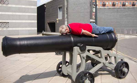 Planking no Canhão