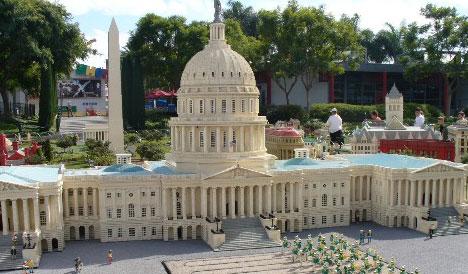 Capitólio dos Estados Unidos LEGO