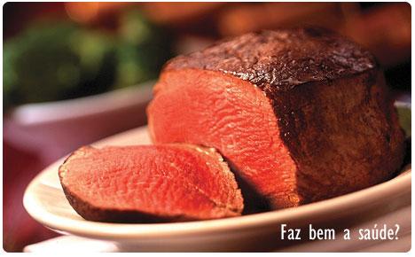 Carne vermelha faz bem a saúde?