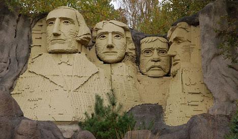 Lego personalidades Estados Unidos