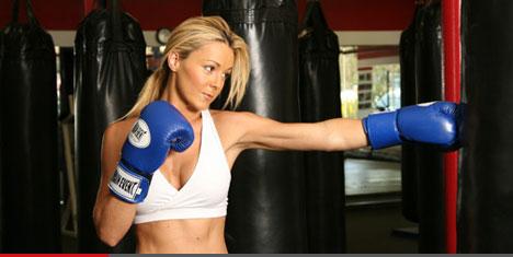 Mulheres e o boxe
