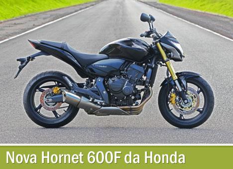Nova Hornet 600F da Honda