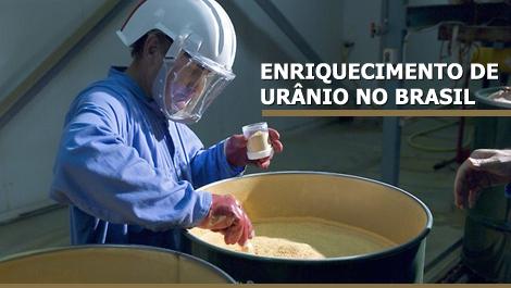 Enriquecimento de urânio no Brasil