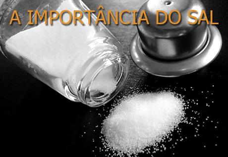 A importância do sal