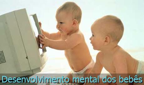 Desenvolvimento mental dos bebês