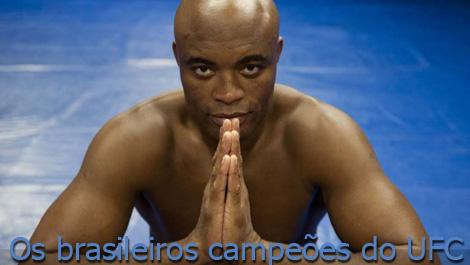 Os brasileiros campeões do UFC