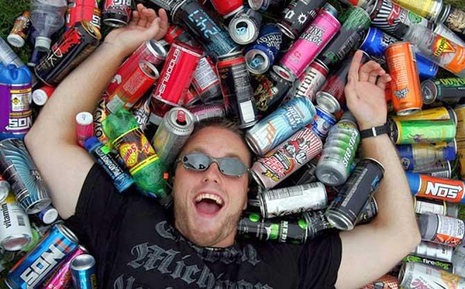 Os energéticos são utilizados principalmente por adolescentes, jovens e atletas