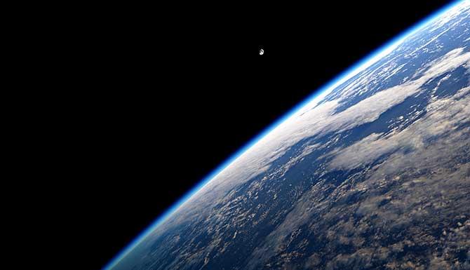 A atmosfera é fundamental para a vida na Terra