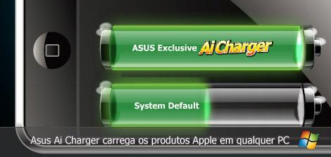 Asus Ai Charger carrega os produtos Apple em qualquer PC