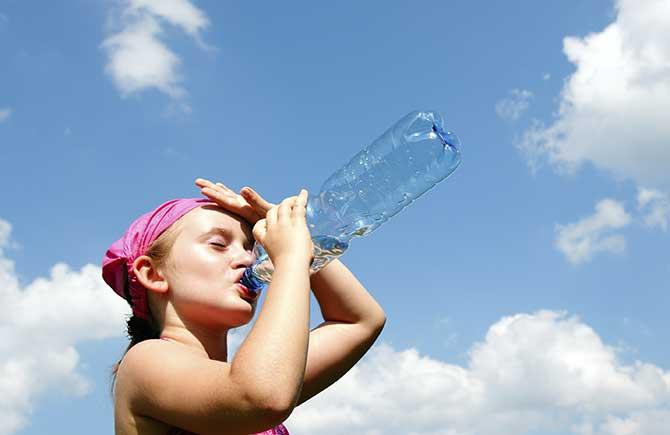 O calor excessivo pode trazer problemas graves a saúde (Imagem: Reprodução)