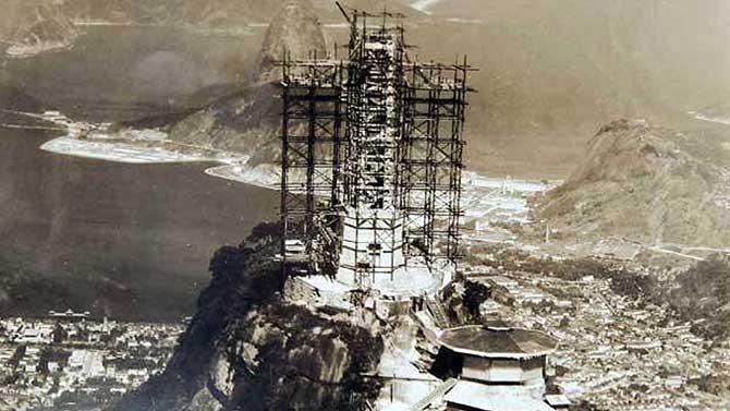 A construção durou entre 1922 e 1931 (Imagem: Reprodução)