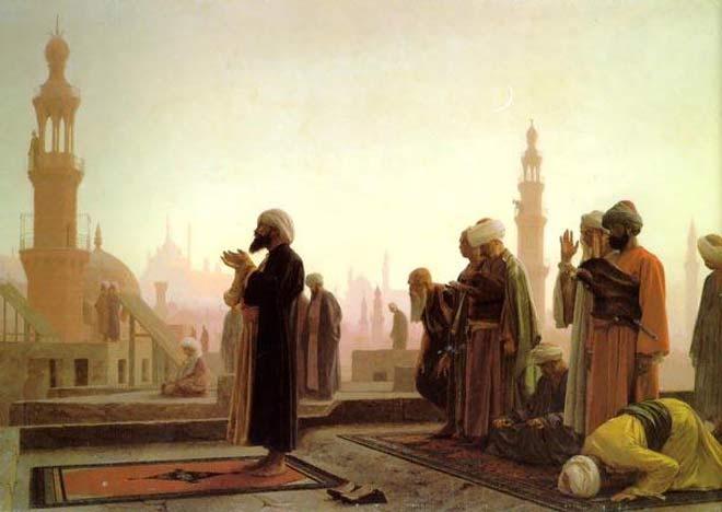 """Todos aqueles que seguiram os ensinamentos de Maomé ficaram conhecidos como Muçulmanos, que tem o mesmo significado de """"Crentes""""."""