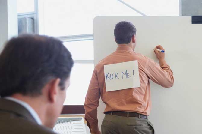 Assédio moral no trabalho não tem graça