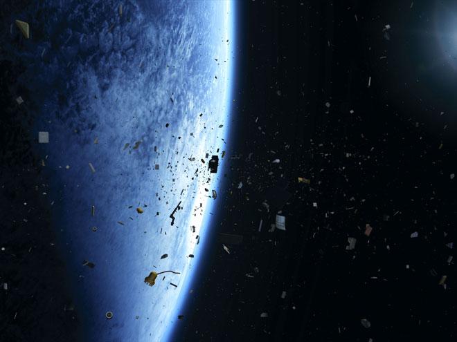 Lixo em órbita da Terra