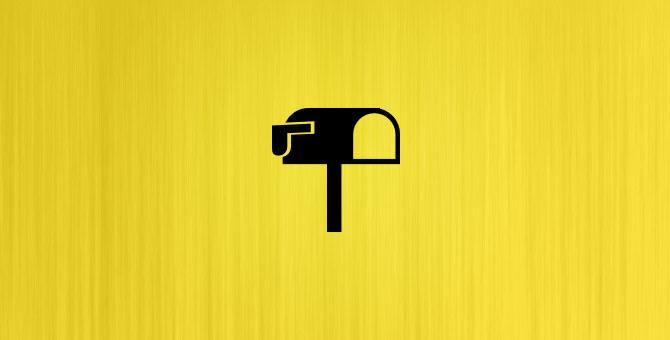Inventado pelos egípcios, as cartas podiam ser entregues confidencialmente a qualquer pessoa.
