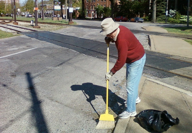 Manter as ruas limpas é mais do que uma questão de cidadania, mas sim, de educação