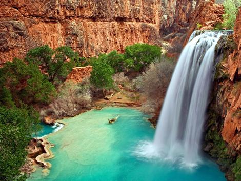 Cachoeira plano de fundo