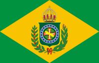 Bandeira do Império do Brasil.