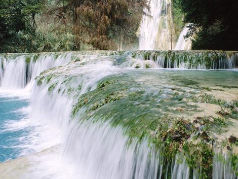 Serie de cachoeiras