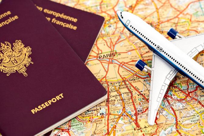 Passaporte para o exterior