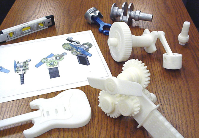 impressoras-3d-peças