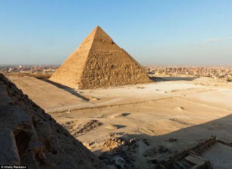 Pirâmide na descida