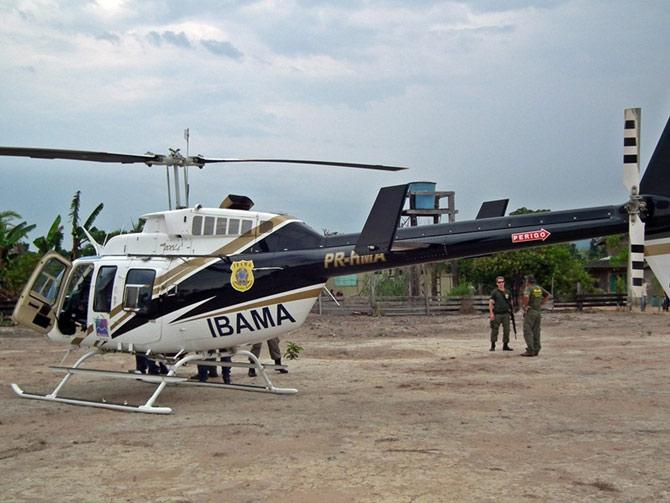 A entidade conta com veículos e helicópteros que ajudam na preservação da biodiversidade brasileira (Foto: Reprodução)