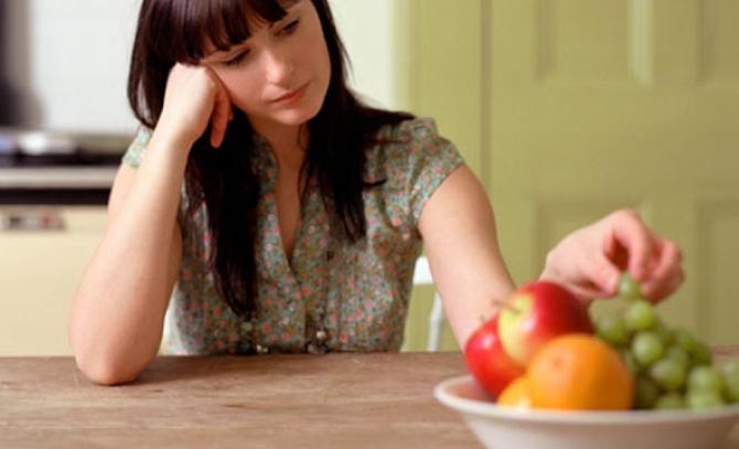 A perda do apetite é um dos sintomas da má absorção.
