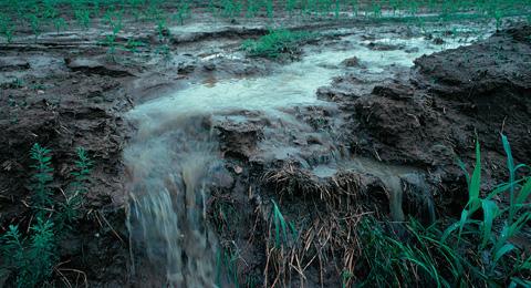 A etapa de escoamento é responsável por conduzir de volta a água até os rios e mares.