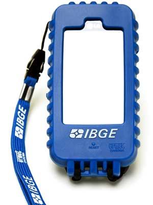 Aparelho utilizado por funcionários do IBGE