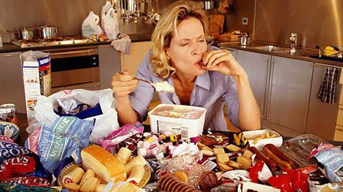 alimentação compulsiva