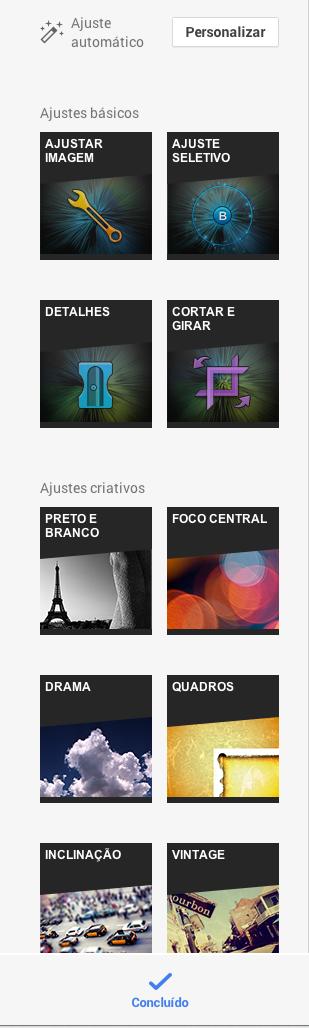 Filtros Imagem Editor Google +