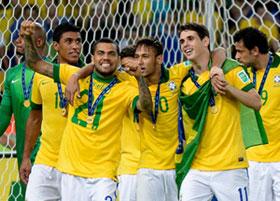 Neymar e Daniel Carvalho
