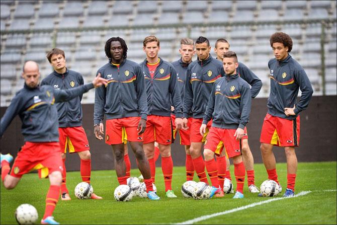 Seleção-da-Bélgica