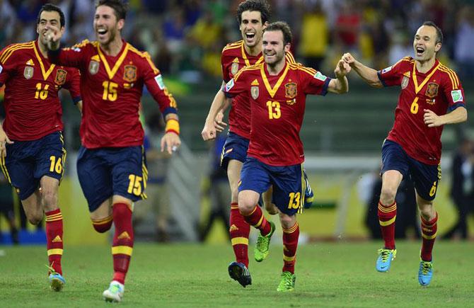 Seleção-da-Espanha